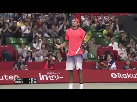 Amazing point between Nick Kyrgios