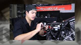 Harley Bagger Air Ride Suspension Kit System and Installation Instruction Video