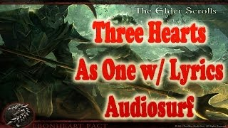 Three Hearts As One Lyrics by Malukah Audiosurf Gameplay