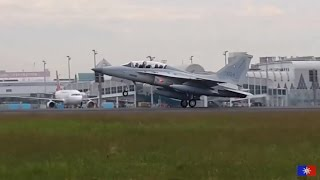 getlinkyoutube.com-Philippine Air Force FA-50(#003 and #004) Landing | Armed Forces of the Philippines