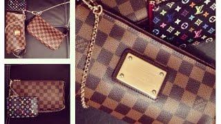getlinkyoutube.com-Louis Vuitton Eva Clutch vs. Pochette Access. NM | Part I