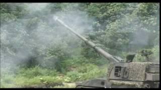 貴重映像 99式自走155mm 75式自走155mm M110A2 自走203mm