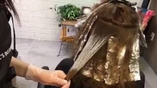 Balayage on Virgin Hair    Hair Tutorial