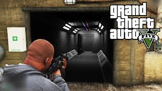 getlinkyoutube.com-GTA 5: SECRET DOOR FOUND AT THE DAM! - CONTROL ROOM!? (GTA 5 Mystery)