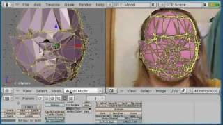 getlinkyoutube.com-3D mesh capture from video using all free programs.