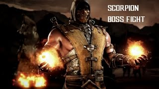 getlinkyoutube.com-Mortal Kombat X (iOS)-FINAL BOSS BATTLE (SCORPION)