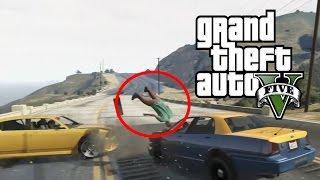 getlinkyoutube.com-Best Car Crash Compilation #3 In Grand Theft Auto 5 (GTA V)
