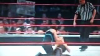 Molly Holly makes Trish tap out!!!