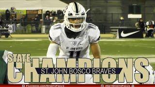 getlinkyoutube.com-St. John Bosco Braves vs De La Salle Spartans | CIF Open Division Championship