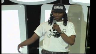 Whacked Comedian - Thapelo Tips Seemise - Blacks Only Footage