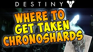 "Destiny: The taken King -  How To Complete ""Gather Taken Chronoshards""  Quest! (The Taken King)"