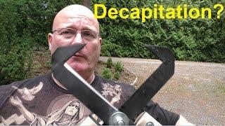 getlinkyoutube.com-Battle Scissors - Homemade and Scary (Anti Zombie Weapon)