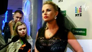 getlinkyoutube.com-Анна Семенович на премии MUZ TV- 2012