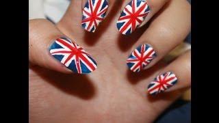 getlinkyoutube.com-رسم الاظافر علم لندن london flag