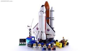 getlinkyoutube.com-LEGO City Spaceport review! set 60080 🚀