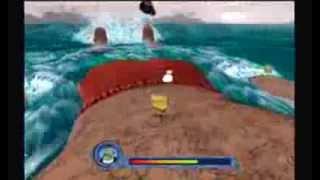 getlinkyoutube.com-SpongeBob SquarePants: The Movie Game 100% Walkthrough - Part 15 - Dennis Strikes Back! (1/1)