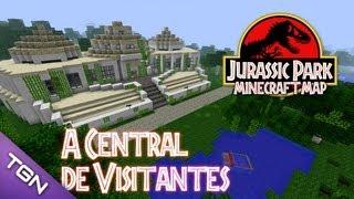 getlinkyoutube.com-🎮 Jurassic Park Minecraft Map :: Ep 3 :: A Central de Visitantes