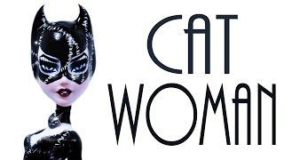 getlinkyoutube.com-How to make a Catwoman Doll [ GOTHAM CITY SIRENS ]