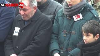 Erzincanlı Şehit Tamer Meriç'i Gözyaşlarıyla Uğurlandı