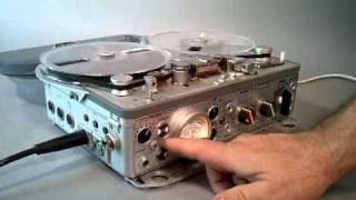 getlinkyoutube.com-Nagra 4-STC stereo timecode reel recorder demonstration