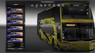 getlinkyoutube.com-Euro Truck Simulator 2 - Pano DD6x2 BUS- 1.21.1s +