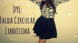 getlinkyoutube.com-DIY / Falda Circular (Sin Maquina de Coser) - Mapo ♥