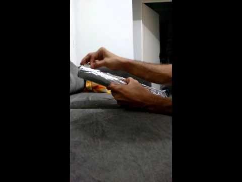 Como cortar papel aluminio para mechas em segundos