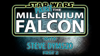 getlinkyoutube.com-PART 2 - Painting the De Agostini Millennium Falcon Scale Model with Steve Dymszo