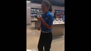Samsung girl (Boochi) singing Just Give Me A Reason