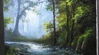 getlinkyoutube.com-Paint with Kevin Hill - Palette Knife Only Landscape Painting