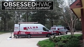 Obsessed HVAC w/ Kalos Services: E2 - Demo, Insulation Talk, Unboxing New Carrier Equipment