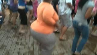 getlinkyoutube.com-Big Booty Girl Dancing