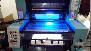LED UV dryer test MAN Roland R201T0B 10000 sheet/hour part 2