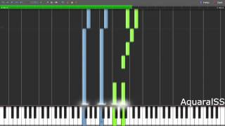 [Synthesia] Kamisama Hajimemashita - Prayer Scene BGM (Piano Tutorial + DPS)