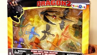 How to Train Your DRAGON2 Ultimate Battle Figure Collection ✈  Toys R Us 🐺