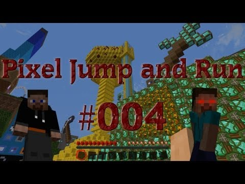 Let´s Play Minecraft Adventure Map Pixel Jump and Run #004