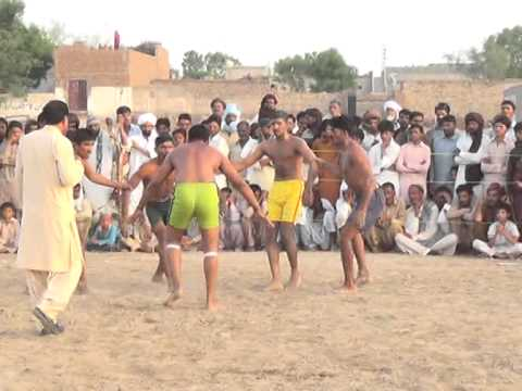 Haji bashir ahmad sangla memorial kabaddi mella 2nd match 184 7r vs 297 hr