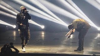getlinkyoutube.com-Drake x Eminem - Forever @ Joe Louis Arena in Detroit (16.08.2016)