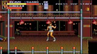 Streets of Rage 3 - Blaze - Stage 3 1/2