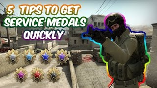 getlinkyoutube.com-5 CS:GO TIPS TO GET YOUR FIRST SERVICE MEDAL QUICKLY (Comp)