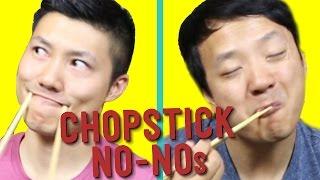 getlinkyoutube.com-19 Things You Should NEVER Do With Chopsticks!