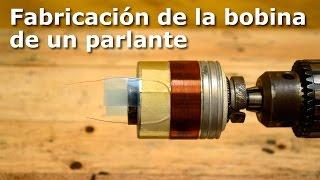 getlinkyoutube.com-Fabricación de la bobina de un parlante (make voice coil)