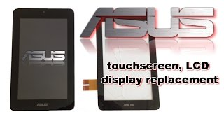getlinkyoutube.com-ASUS Memo Pad ME172V - Touchscreen /Disgitizer, LCD Dysplay, Battery replacement, How to Disassemble