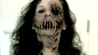 getlinkyoutube.com-Zombie SFX Makeup Tutorial