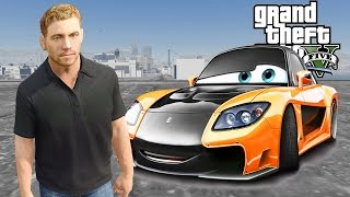getlinkyoutube.com-Grand Theft Auto V - Drag Race with Mazda RX7 [Fast & Furious Cars] - GTA 5 Mods Gameplay