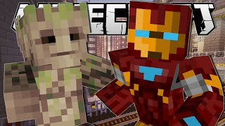 getlinkyoutube.com-Minecraft | SUPERHERO POWERS!! (Slow Down Time, Groot & Iron Man!) | One Command Creation