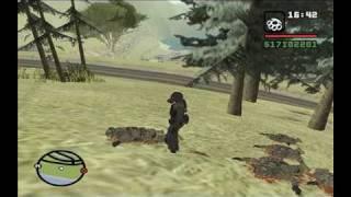 GTA SAN ANDREAS - Escape de la Bomba Nuclear.. Y Matando polis PARTE 2 - loquendo