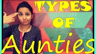 getlinkyoutube.com-Types of Aunties | MostlySane | Women's Day Special
