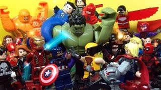 getlinkyoutube.com-Lego Avengers vs The Hulk
