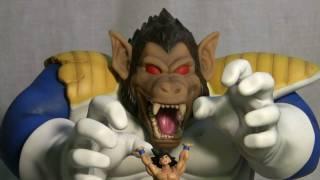 Download video: Super Saiyan 3 Goku Custom Statue